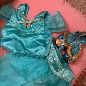 Disney Princess Jasmine costume and shoes